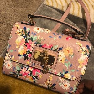 Worn once! Aldo floral print crossbody